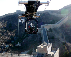 CAMCAT STANDARD System at the Great Wall of China in 2009