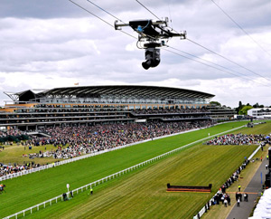 Foto: CAMCAT® STANDARD system at Royal Ascot 2009 (image by CAMCAT® SYSTEMS GmbH)