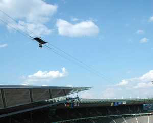CAMCAT® STANDARD System at the 2006 Soccer World Cup in Berlin. (image by CAMCAT® SYSTEMS GmbH)