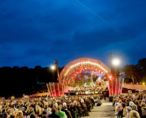 CAMCAT® STANDARD System at the Vienna Philharmonic Summer Night Concert in Schönbrunn, 2011 (image by CAMCAT® SYSTEMS GmbH)